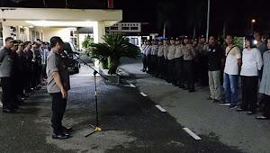 Masih Siaga Satu, Anggota Polres Tebo Patroli di Kantor KPU dan Banwaslu