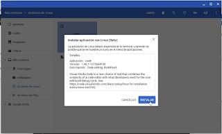 Visual Studio Code instalar deb
