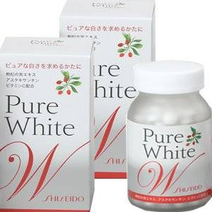 Collagen shiseido pure white dạng viên