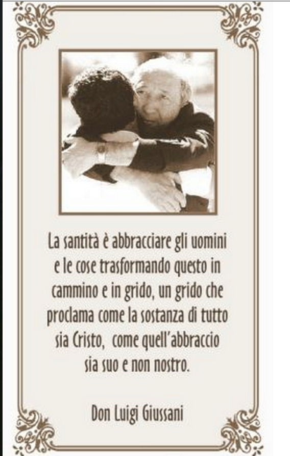 Frasi natale don giussani