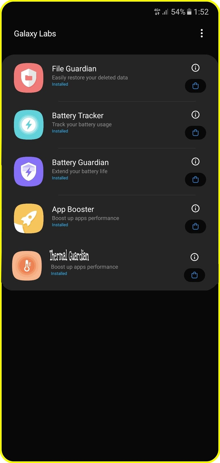 Control the temperature of your Samsung phone using this new application and speed up the performance of the device