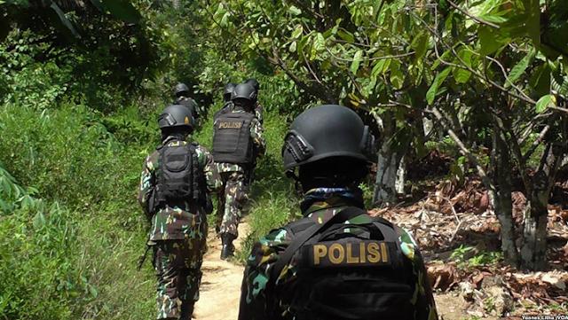 Operasi Tinombala yang digelar di poso untuk mencari anggota ISIS Indonesia