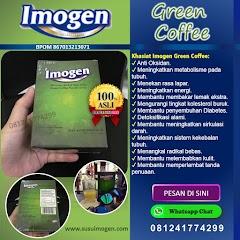 Imogen Green Coffee Asli Minuman Diet Penurun Berat Badan