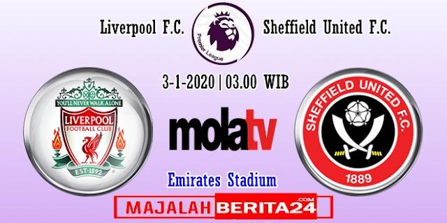 Prediksi Liverpool vs Sheffield United — 3 Januari 2020