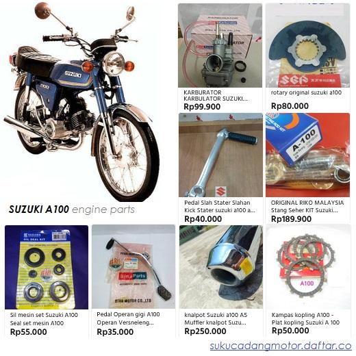 Sparepart Suzuki A100