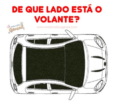 De que lado está o volante?