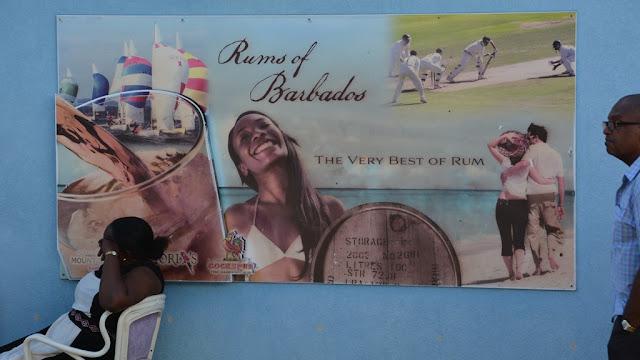 Bridgetown Barbados rum