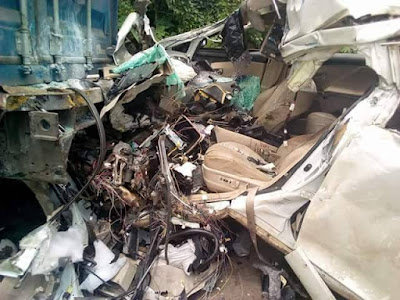 Corps Member and Girlfriend Reportedly Crushed to Death on Their Way to Asaba For Clearance
