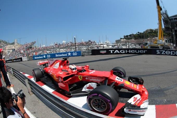 Vettel cortó la racha de 15 años sin victorias de Ferrari en Montecarlo