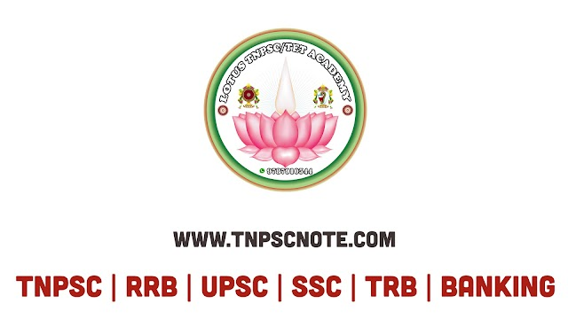 TNPSC Group II, II A, GROUP 4 Test Series by Lotus TNPSC TET Academy 2020 Test - 5 with Answer Key