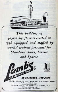Lamb's Ltd advert 1951