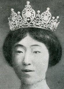 diamond scroll tiara empress michiko japan kojun