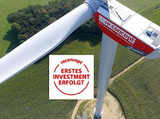 re12 energiezins 20122 umweltfonds hochrentabel reconcept windkraft deutschland europa festzins 5% vergleich geldanlage zinsen laufzeit ertrag 2019
