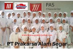 Lowongan Kerja PT Prakarsa Alam Segar (PAS) 2020