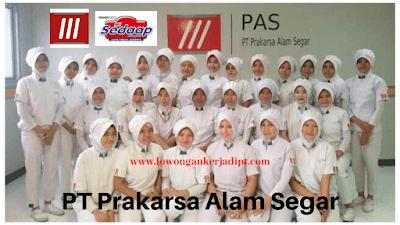 Lowongan Kerja PT Prakarsa Alam Segar (PAS)