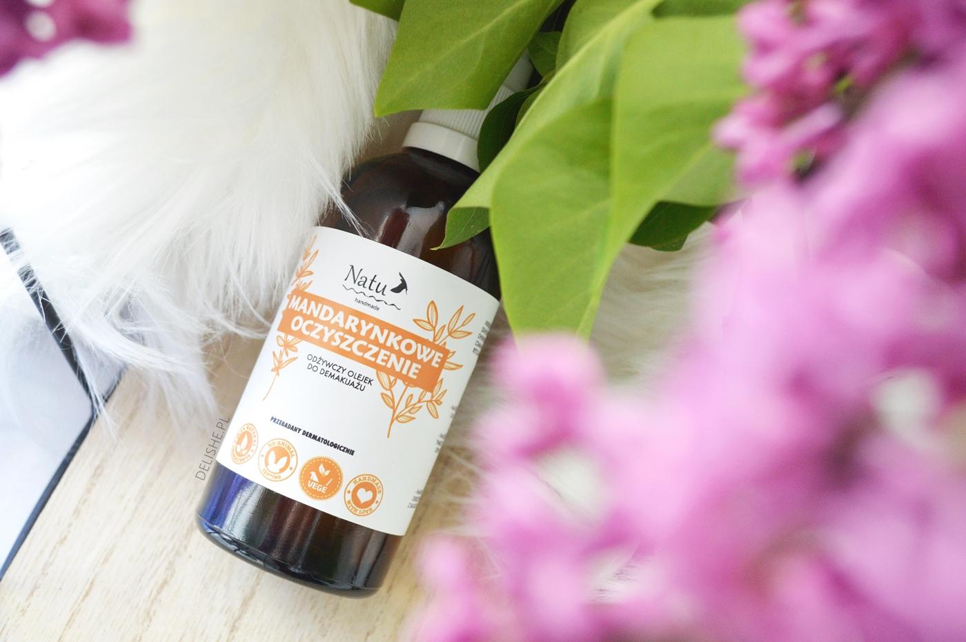 pewniaki kosmetyczne do pielęgnacji, olejek natu handmade