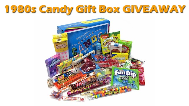 GIVEAWAY: Win an Old Time Candy '80s Themed Gift Box