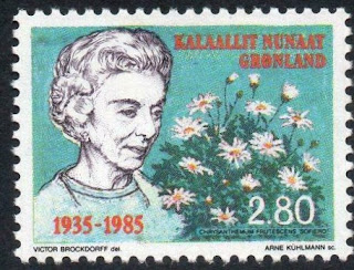 Greenland 1985 50th Anniversary of the Arrival of Queen Ingrid in Denmark
