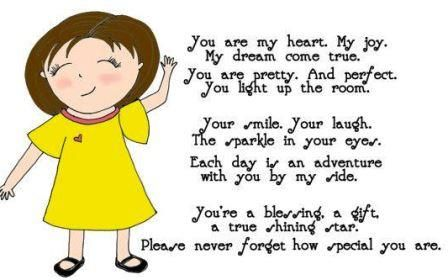 Funny mothers day poems from kids Daughter Son and toddler