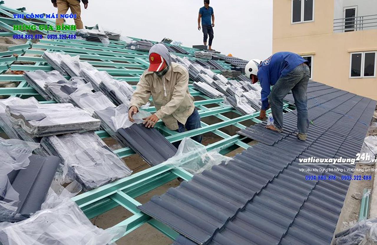 Hưng Gia Bình - Nhà thầu thi công mái ngói tại Hội An, Quảng Nam