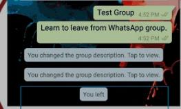 Cara Keluar dari Grup Chat WhatsApp Secara Permanen 5