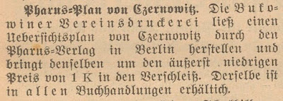 Bukowinaer Nachrichten, 13.01.1913