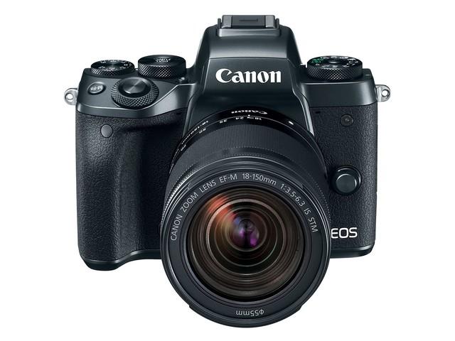 Canon 正式發表了 EOS M5