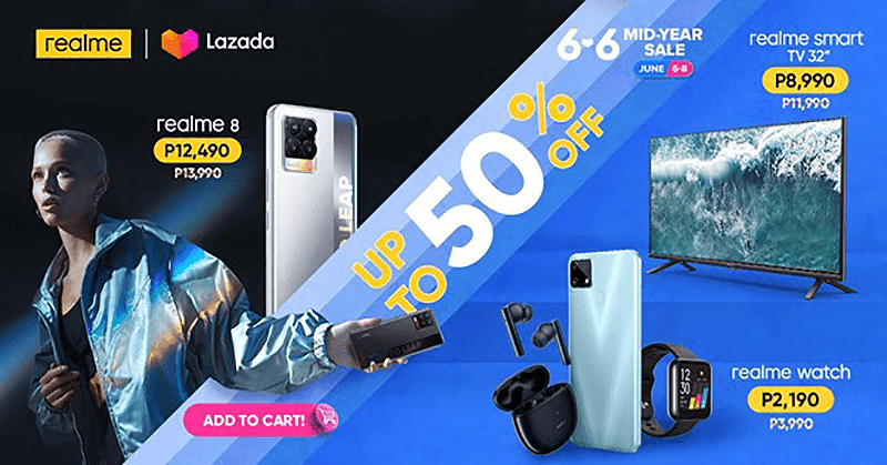 realme 8 series and more is on sale