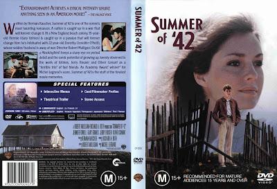 Carátula dvd: Verano del 42 (1971) (Summer of '42)