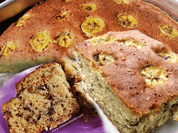 resepi kek pisang