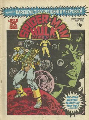 Spider-Man and Hulk Weekly #413, Man-Wolf
