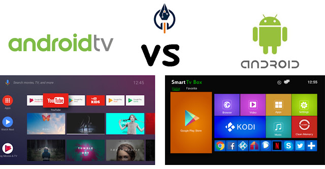 Android Normal vs Android TV