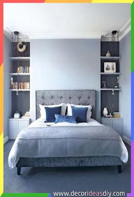 الوان غرف نوم زرقاء مريحة