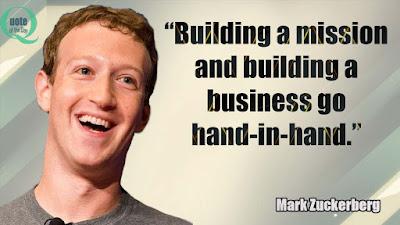 Mark Zuckerberg Quotes for Entrepreneurs