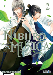 Manga: Reseña de Nibiiro Musica Vol.2 de Kemeko Tokoro - Ivrea
