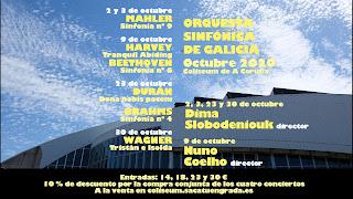 Bajo la dirección de su titular Dima Slobodeniouk, la OSG presenta una nueva temporada de conciertos adaptada a las restricciones que impone la realidad del COVID-19