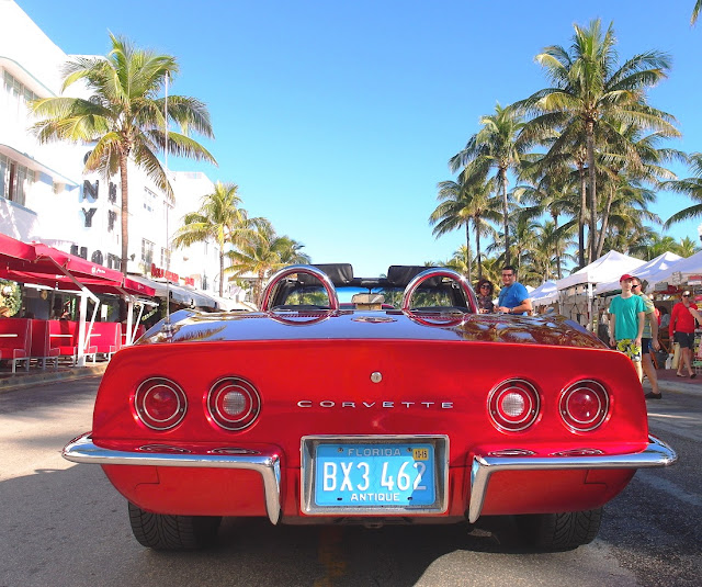 Miami Beach - coola bilar