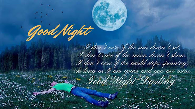 Romantic Good Night Sms for Girlfriend