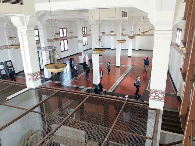 Pemandangan Ruang di De Java Bank dari Atas