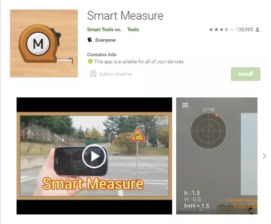 smart measure distance measurement app