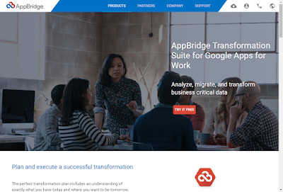 AppBridge Website migration to Google Apps and Google Drive