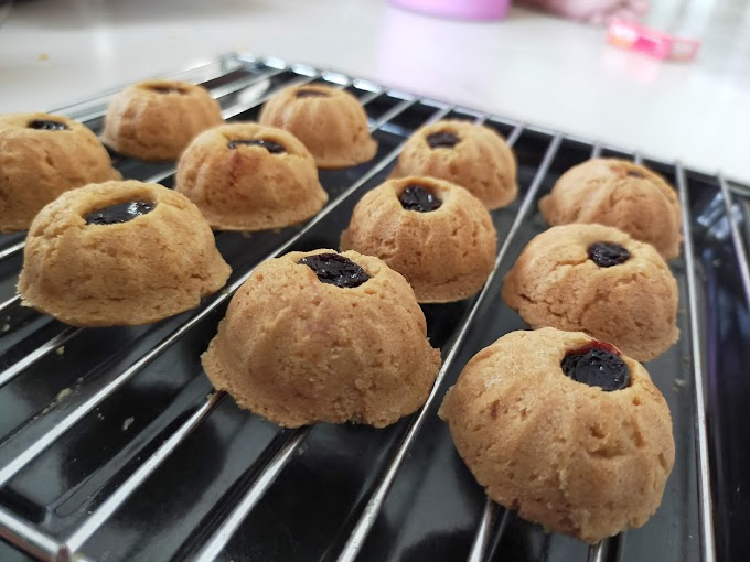 Resepi Biskut Peanut Butter Sukatan Cawan Yang Sedap dan Mudah