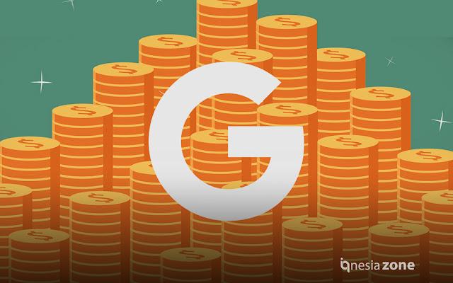 Sumber Pendapatan Google | IQ Nesia Zone