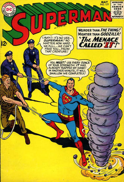 Episode #382 Part II: Superman Comic Book Cover Dated May 1965: Superman #177!