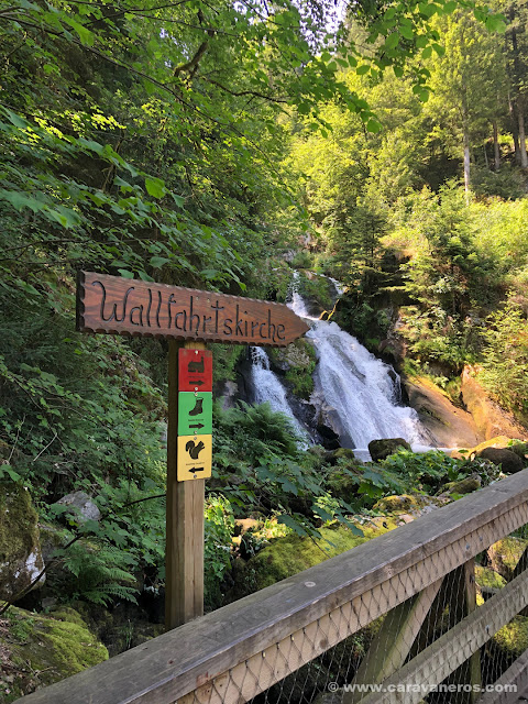 Cascadas de Triberg | Alsacia y la Selva Negra en autocaravana