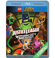 LEGO DC COMICS SUPERHEROES: JUSTICE LEAGUE – GOTHAM CITY BREAKOUT (2016) FULL 1080P HD MKV ESPAÑOL LATINO