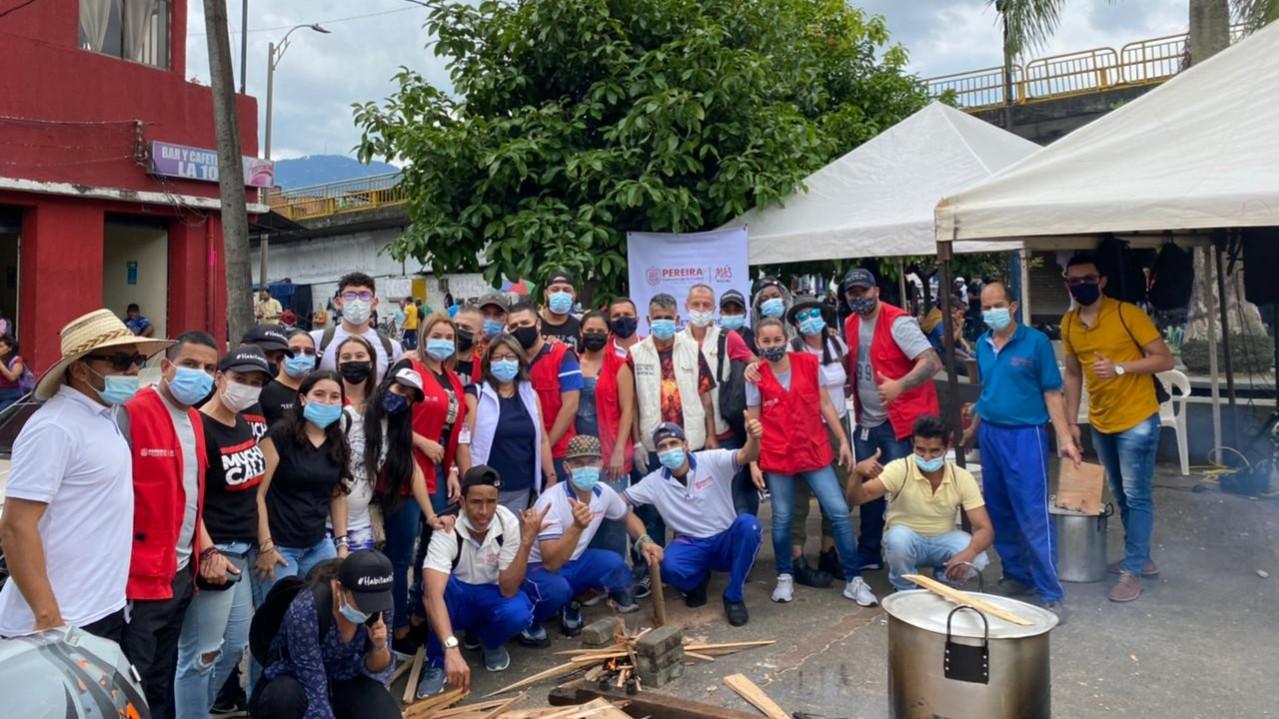 Habitantes de calle disfrutaron de un día diferente, a través de la Secretaría de Desarrollo Social