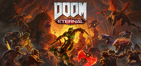 لعبة Doom Eternal ps4 xbox one pc