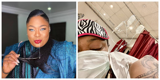 Pray for me- OAP Matlida Duncan says as she is Diagnosed with Peritonitis