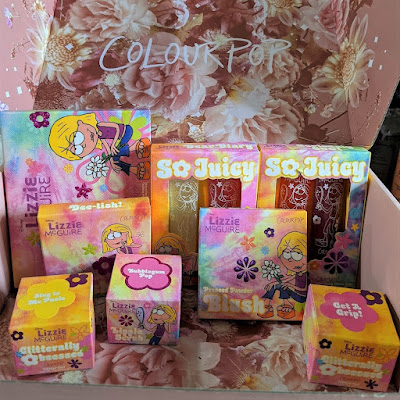 Colourpop x Disney; Lizzie McGuire Collection